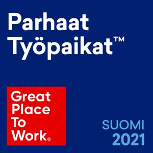 2021-Finland-Parhaat-Tyopaikat